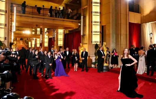 2012 Oscars Arrivals